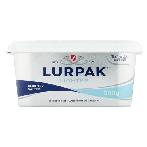 Picture of Lurpak Lighter Slightly Salted Spreadable 500g