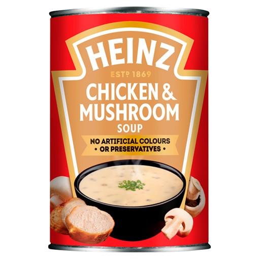 Picture of Heinz Chicken & Mushroom Soup 400g