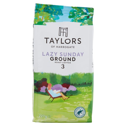 Picture of Taylors of Harrogate Lazy Sunday Ground Roast Coffee 227g