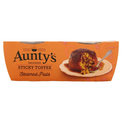 Picture of Aunty's Delicious Sticky Toffee Steamed Puds 2 x 95g