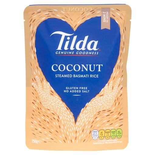 Picture of Tilda Microwave Coconut Basmati Rice 250g