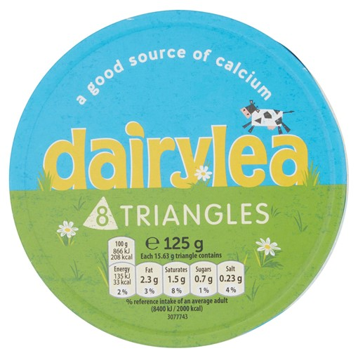 Picture of Dairylea Cheese Triangles 8 Pack 125g