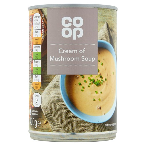 Picture of Co-op Cream of Mushroom Soup 400g