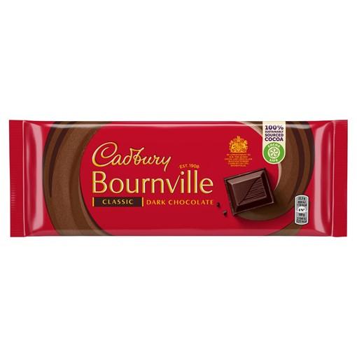 Picture of Cadbury Bournville Classic Dark Chocolate Bar 180g