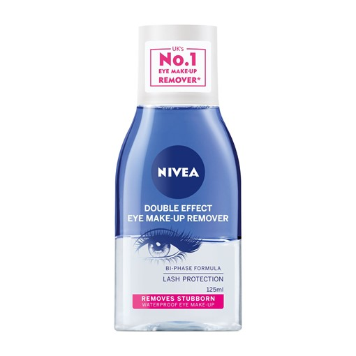 Picture of NIVEA Daily Essentials Double Effect Eye Make-Up Remover 125ML