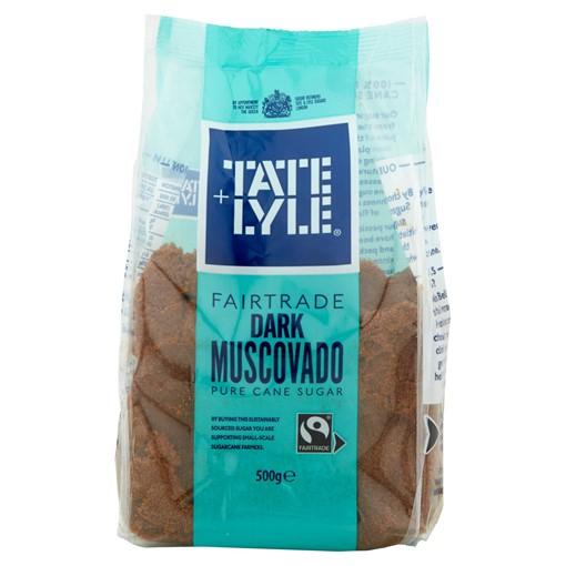 Picture of Tate & Lyle Fairtrade Dark Muscovado Cane Sugar 500g