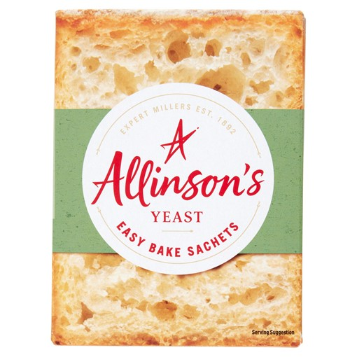 Picture of Allinson's Yeast 6 Sachets x 7g (42g)