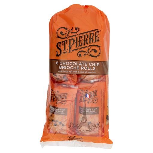 Picture of St Pierre 8 Chocolate Chip Brioche Rolls