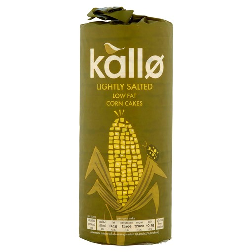Picture of Kallo Lightly Salted Low Fat Corn Cakes 130g