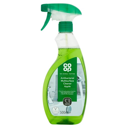 Picture of Co-op Antibacterial Multisurface Cleaner Apple 500ml