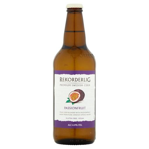 Picture of Rekorderlig Premium Swedish Passion Fruit Cider 500ml