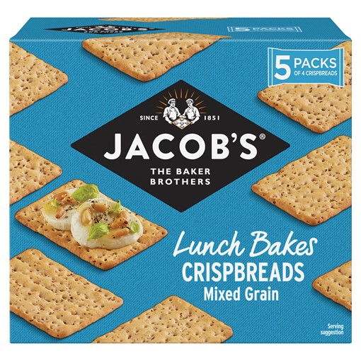 Picture of Jacob's Crispbreads Mixed Grain 190g