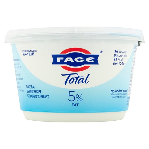 Picture of FAGE Total Natural Greek Recipe Strained Yoghurt 500g