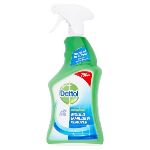 Picture of Dettol Antibacterial Disinfectant Mould & Mildew Remover Spray 750ml