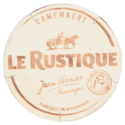 Picture of Le Rustique Jean Verrier Fromager Camembert 250g
