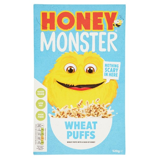 Picture of Honey Monster Wheat Puffs 520g