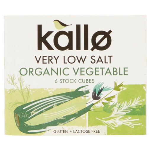 Picture of Kallo Organic Very Low Salt Vegetable Stock Cubes 6 x 10g