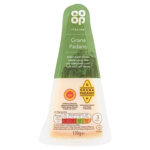 Picture of Co-op Italian Grana Padano 200g