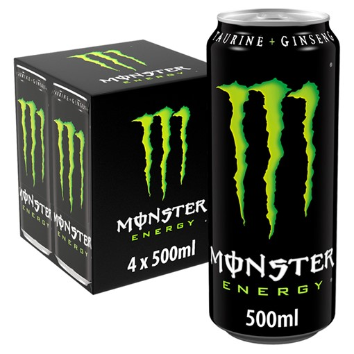 Picture of Monster Energy 4 x 500ml