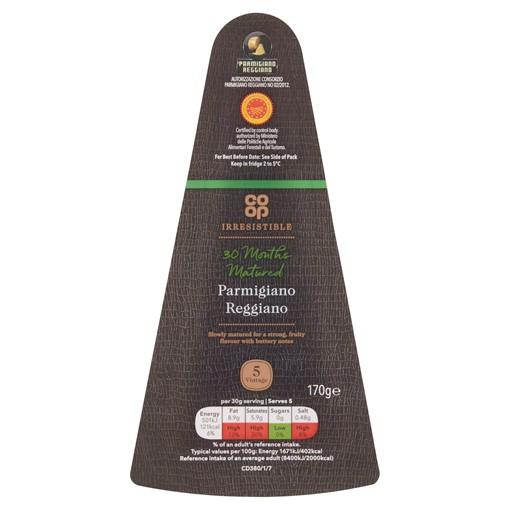 Picture of Co-op Irresistible Parmigiano Reggiano 150g