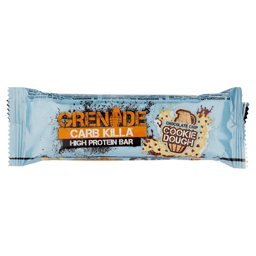 Picture of Grenade Carb Killa High Protein Bar Chocolate Chip Cookie Dough 60g