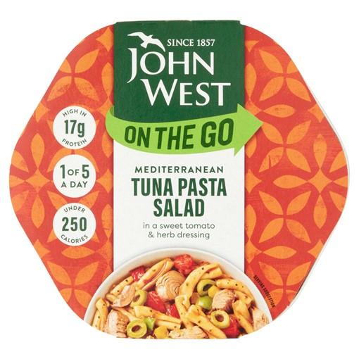 Picture of John West On The Go Mediterranean Tuna Pasta Salad 220g