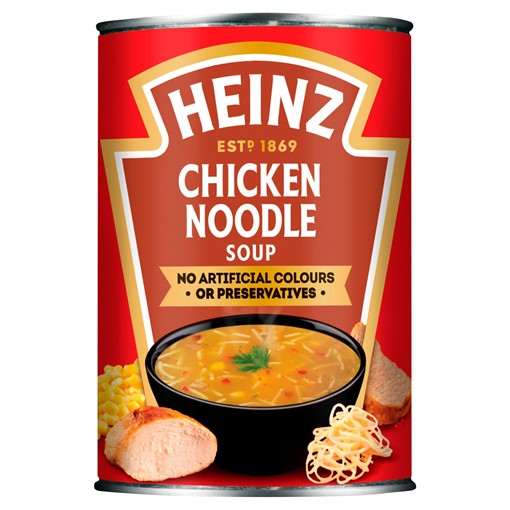 Picture of Heinz Classic Chicken Noodle 400g