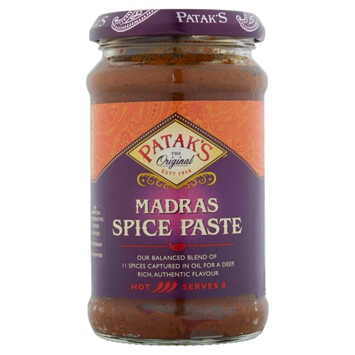 Picture of Patak's The Original Madras Spice Paste 283g