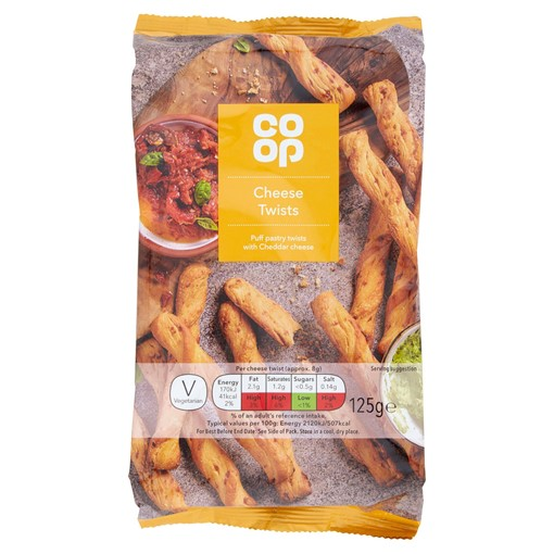 Picture of Co-op Cheese Twists 125g
