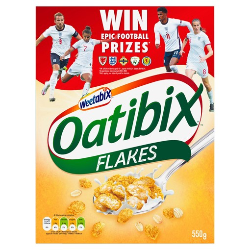 Picture of Weetabix Oatibix Flakes Cereal 550g