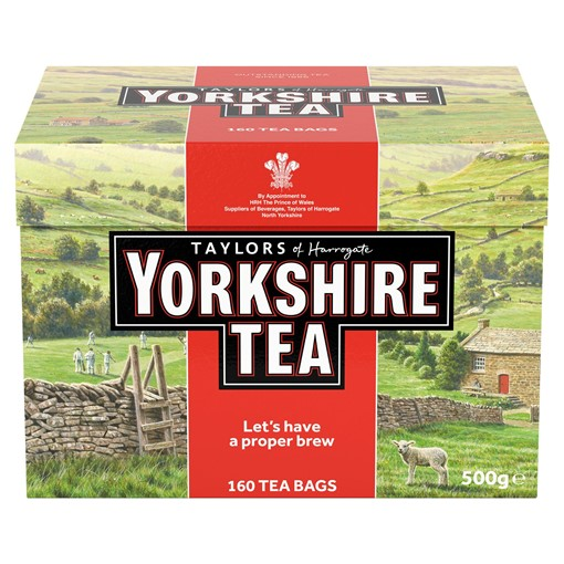 Picture of Taylors of Harrogate Yorkshire Tea 160 Tea Bags 500g