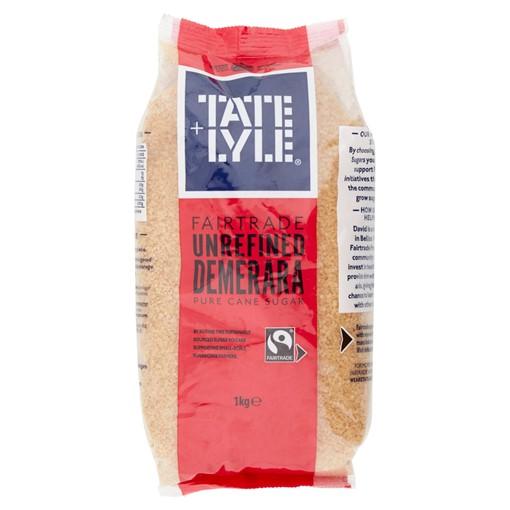 Picture of Tate & Lyle Fairtrade Demerara Cane Sugar 1kg