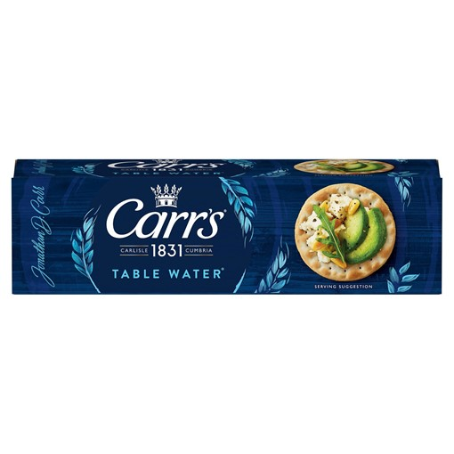 Picture of Carr's Table Water Biscuits 125g