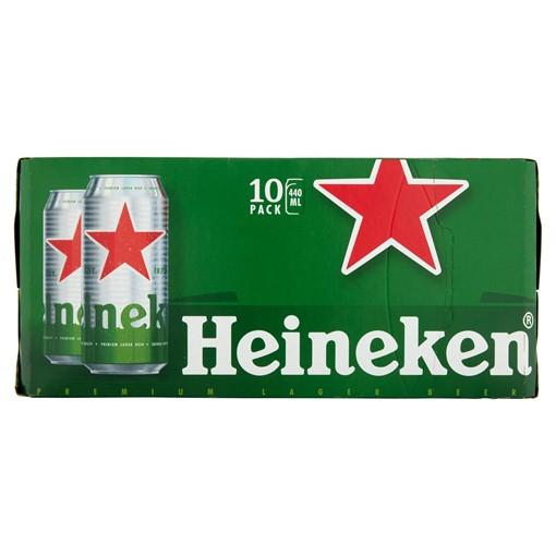 Picture of Heineken Lager Beer 10 x 440ml