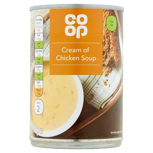 Picture of Co-op Cream of Chicken Soup 400g