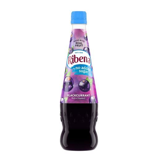Picture of Ribena Blackcurrant Squash No Added Sugar 850ml