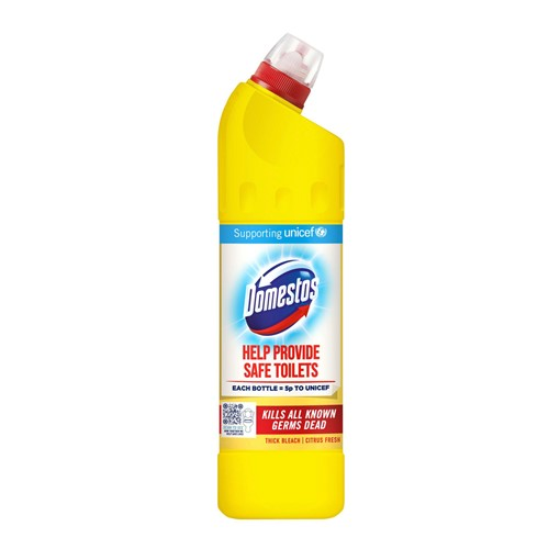 Picture of Domestos Citrus Fresh Thick Bleach 750 ml