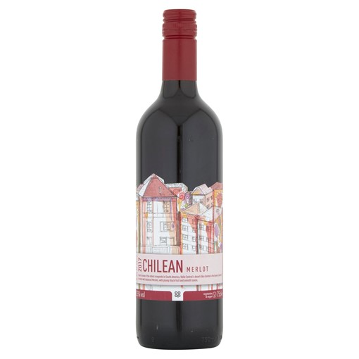 Picture of Co-op Chilean Merlot 75cl