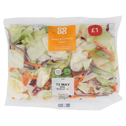 Picture of Co-op Sweet & Crunchy Salad 250g