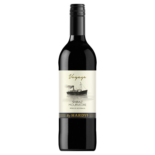 Picture of Voyage By Hardys Shiraz Mourvedre 75cl