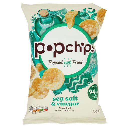 Picture of Popchips Sea Salt & Vinegar Sharing Crisps 85g