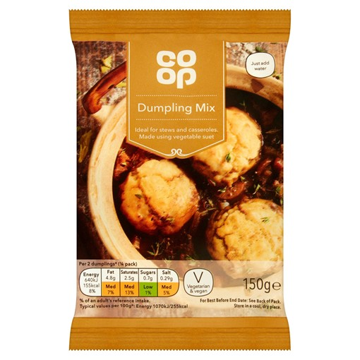Picture of Co Op Dumpling Mix 150g