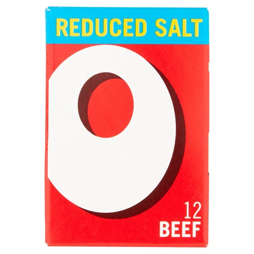 Picture of Oxo Reduced Salt Beef Stock Cubes 12