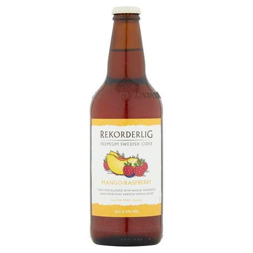 Picture of Rekorderlig Premium Swedish Mango-Raspberry Cider 500ml