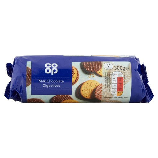 Picture of Co-op Milk Chocolate Digestives 300g