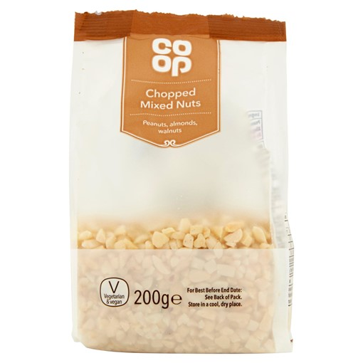 Picture of Co Op Chopped Mixed Nuts 200g