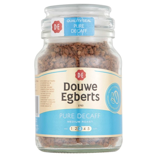 Picture of Douwe Egberts Pure Decaf Medium Roast Instant Coffee 95g