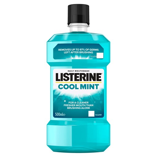 Picture of Listerine Coolmint Mouthwash 600ML