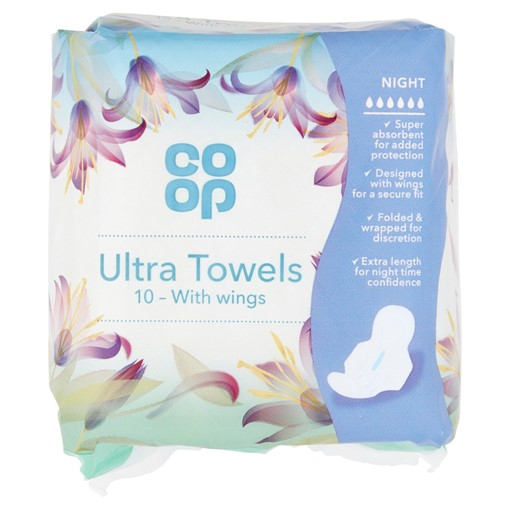 Picture of Co-op 10 Ultra Towels with Wings Night