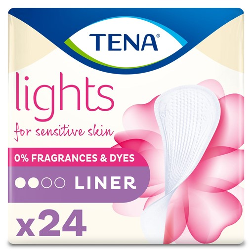 Picture of TENA Lights Incontinence Liners 24 pack
